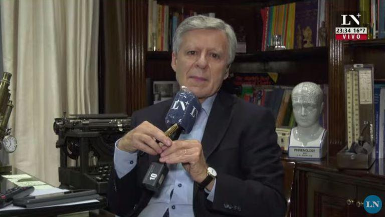El médico Daniel López Rosetti