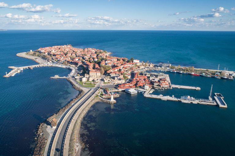 La isla de Nessebar fue un importante centro de comercio fluvial durante el Imperio Bizantino
