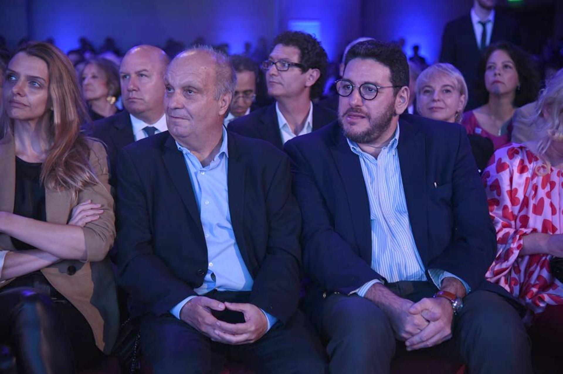 Hernán Lombardi y Pablo Avelluto