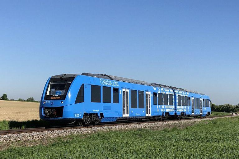 Trenes de hidrógeno para combatir la contaminación de las locomotoras diésel