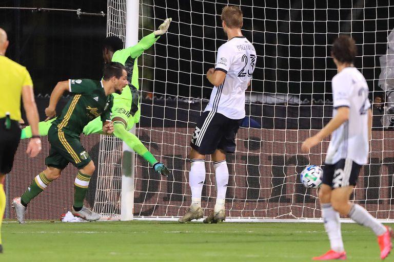 MLS. Un gol de Sebastián Blanco para llevar a Portland a la gran final
