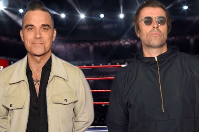 Robbie Williams reavivó una vieja pelea con Liam Gallagher