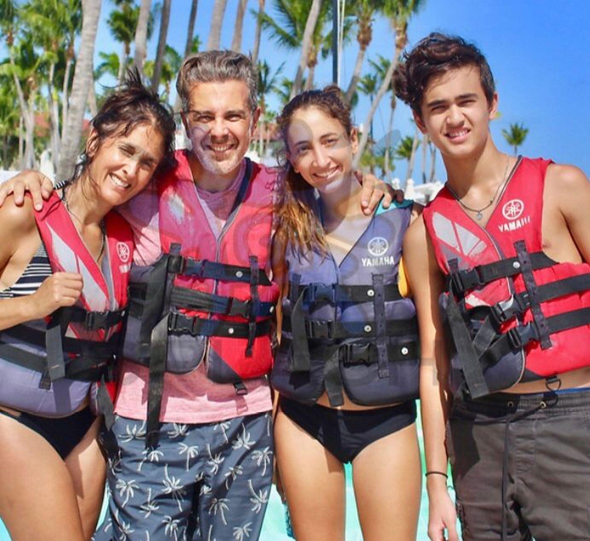 La familia Stollavagli logró adaptarse a una nueva vida en Miami