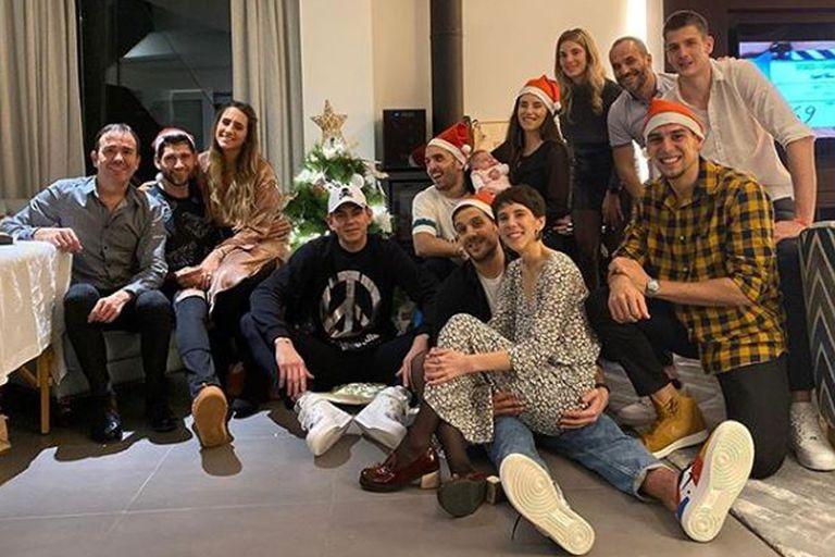 Por el mundo. Cómo celebraron la Navidad los deportistas argentinos