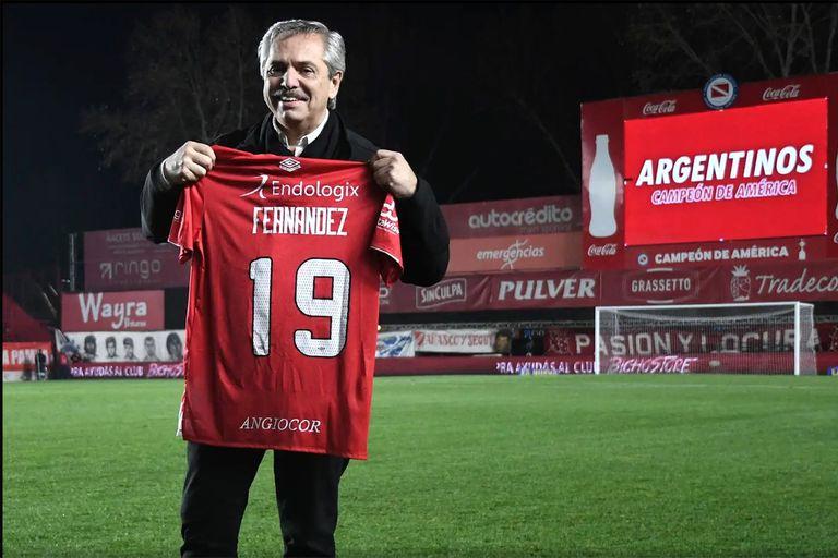 El presidente, Alberto Fernández, reinstaló el tema de la vuelta a los entrenamientos en dos entrevistas que ofreció el sábado y el lunes