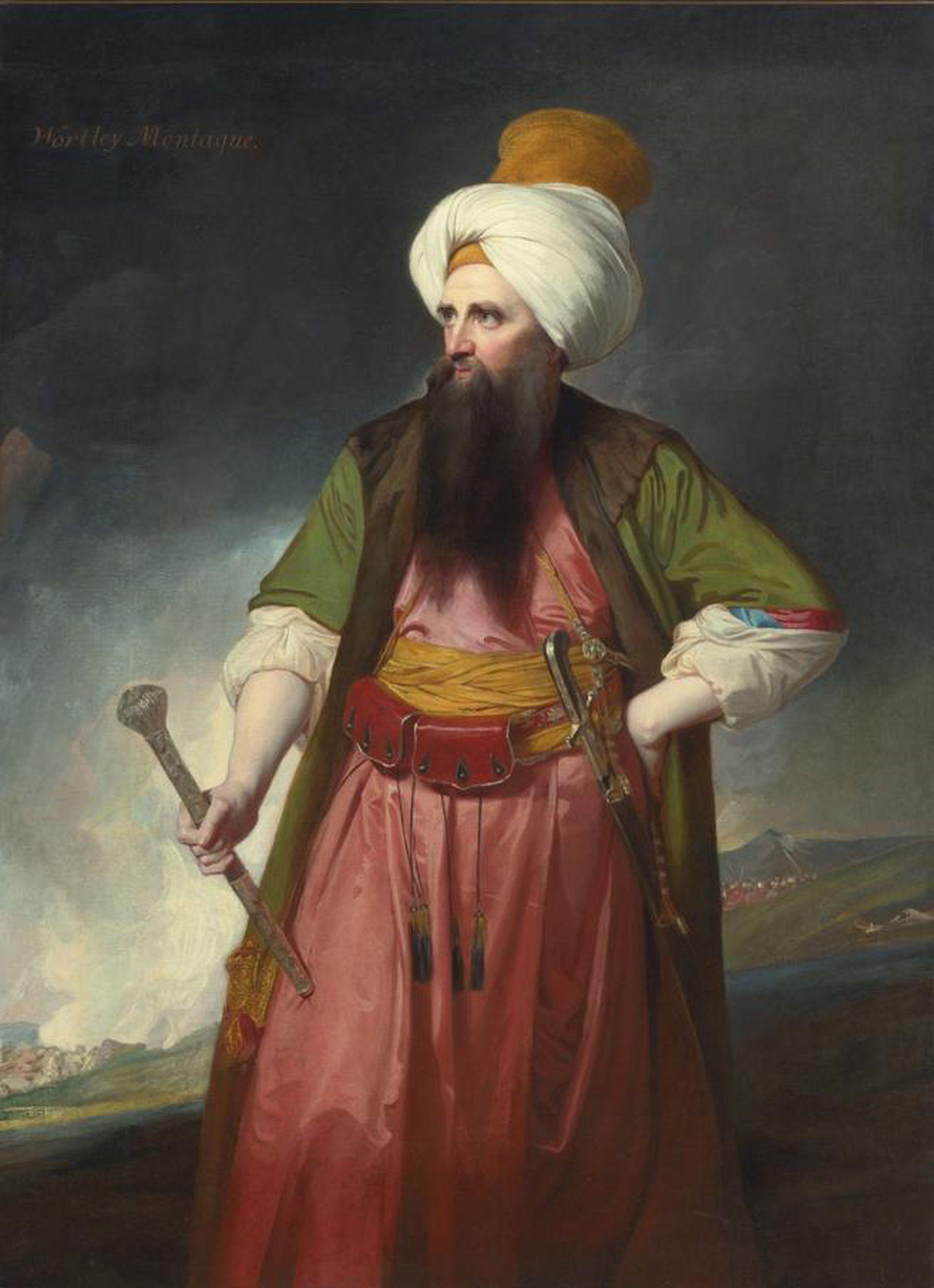 Edward Wortley Montagu (1713-1776), esposo de Lady Mary, fue embajador inglés en la corte otomana.