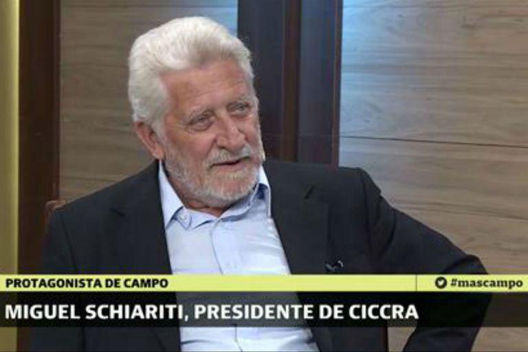 Miguel Schiariti, presidente de Ciccra