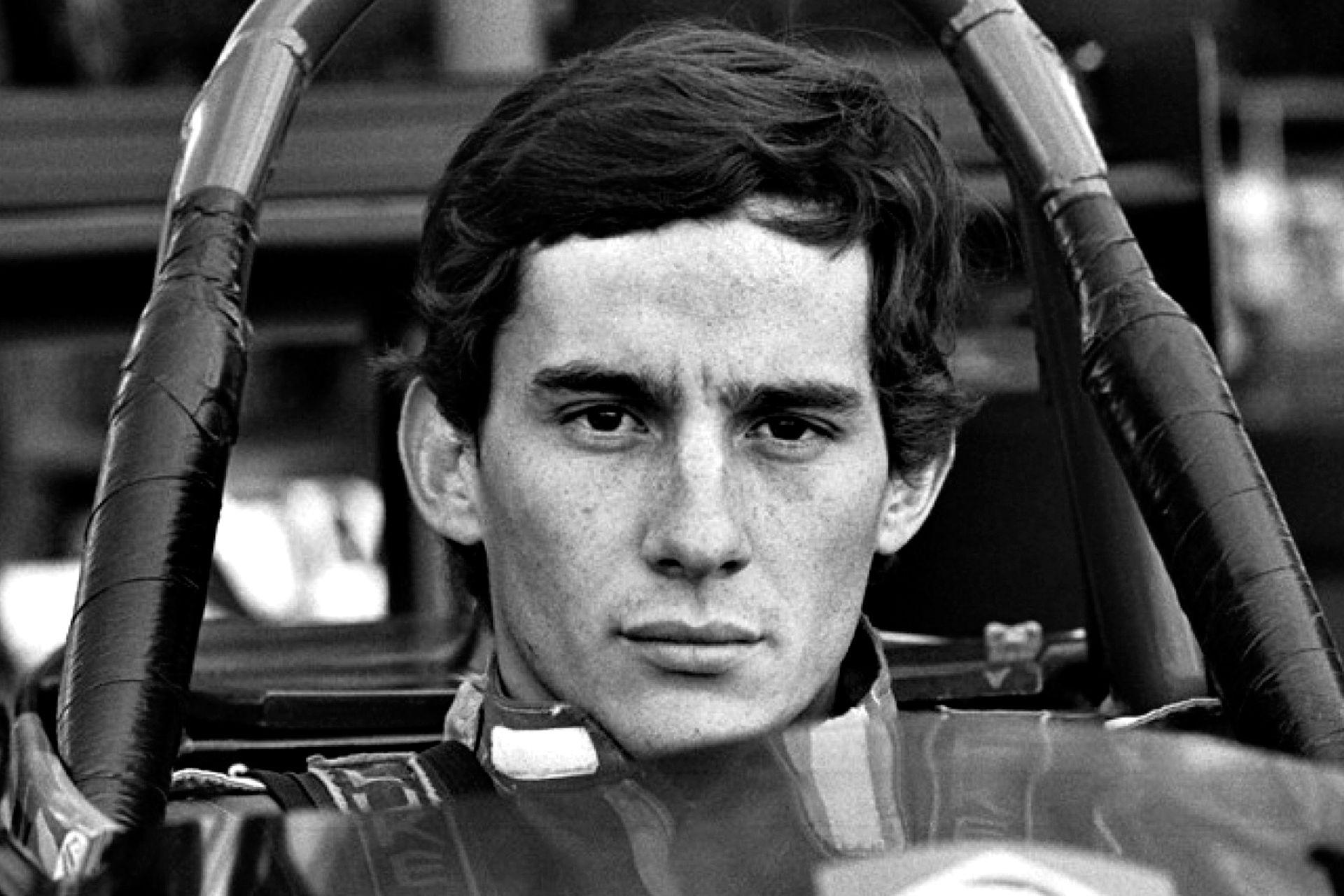 El piloto brasileño Ayrton Senna en el campeonato de Formula Ford 2000, en Dinamarca en el año 1982. Hoy se cumplen 25 años de su muerte durante una carrera de Fórmula 1 en el circuito italiano de Ímola