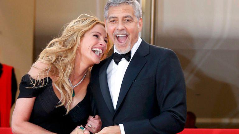 George Clooney y Julia Roberts protagonizarán una comedia romántica