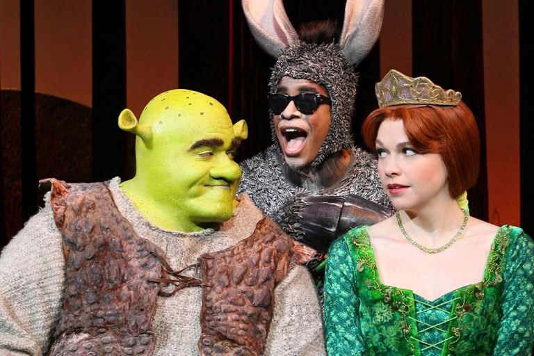 Shreck El Musical, con Brian D Arcy James, Daniel Breaker y Sutton Foster