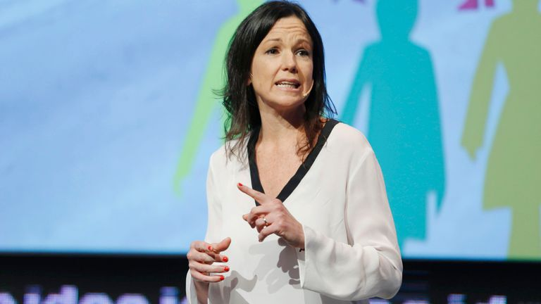 Carolina Stanley, ministra de Desarrollo Social, la cartera que recortó pensiones por invalidez