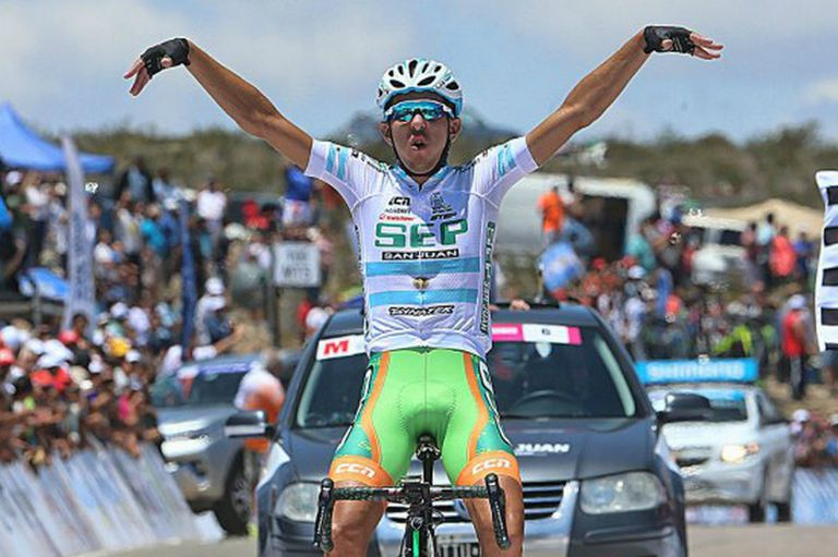 Najar, el campeón de la Vuelta a San Juan, dio positivo en un control antidoping