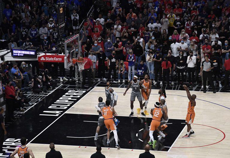 NBA: Phoenix Suns, a un paso de la final luego de ganarle a Los Angeles Clippers y ampliar la diferencia