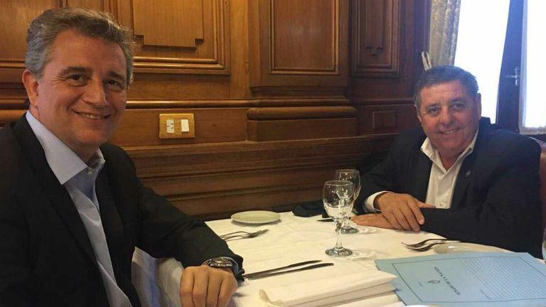 Etchevehere y De Angeli, hoy en el Senado