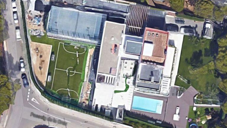 La casa de Messi, desde Google Maps