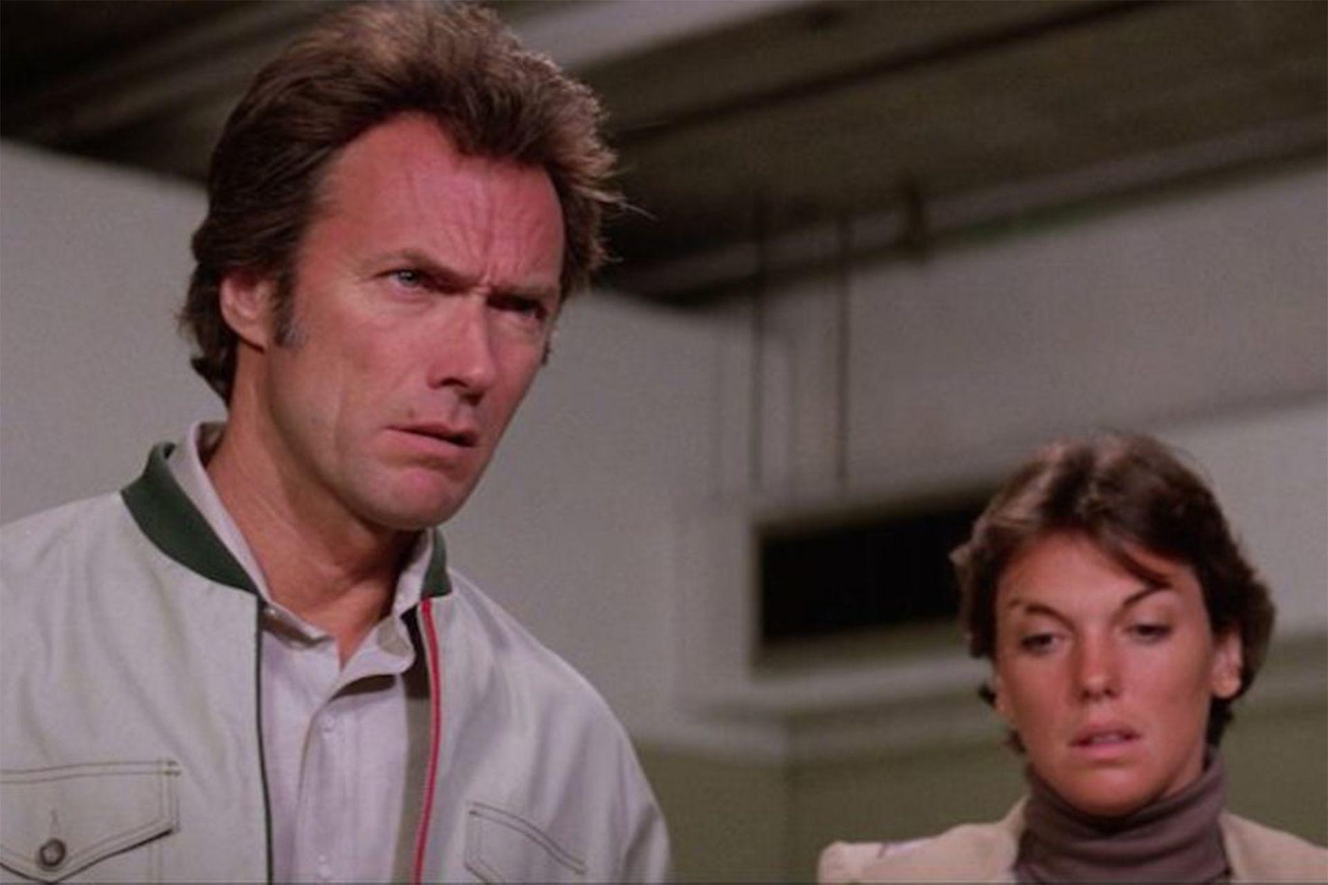 Eastwood y Tyne Daly, en Sin miedo a la muerte