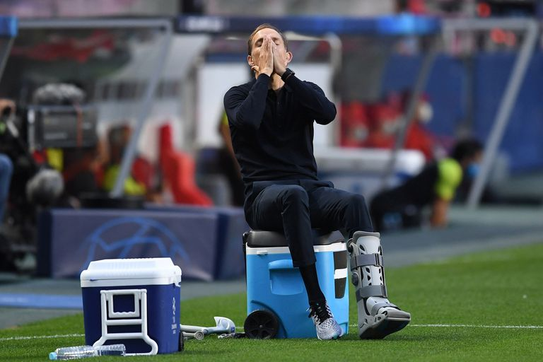 Tuchel, lesionado: tiene un esguince de tobillo con fractura del quinto metatarsiano, pero se operará al finalizar la Champions