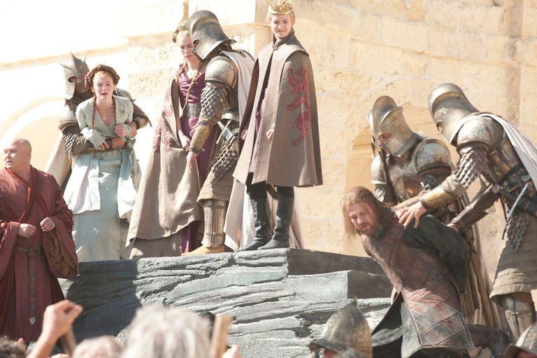 Joffrey Baratheon ordenó la decapitación de Ned Stark