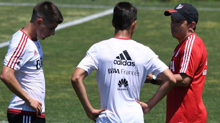 Marcelo Gallardo busca recomponer al plantel