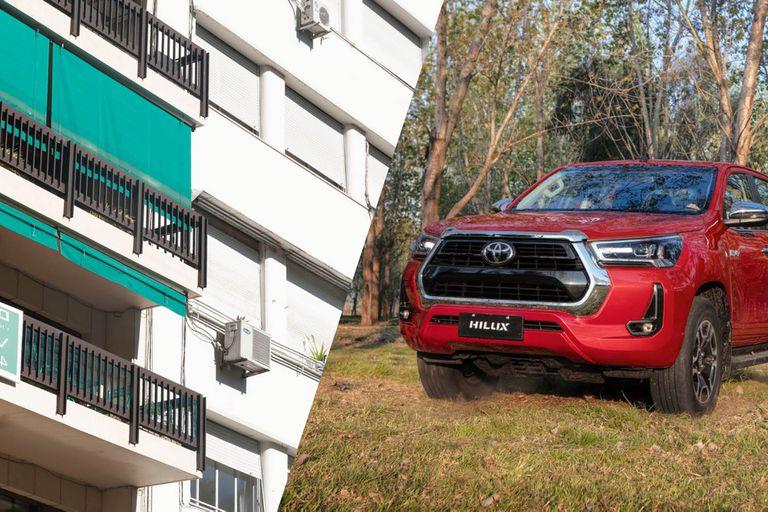 Comprar una camioneta o invertir en metros cuadrados, ¿qué es mejor negocio?