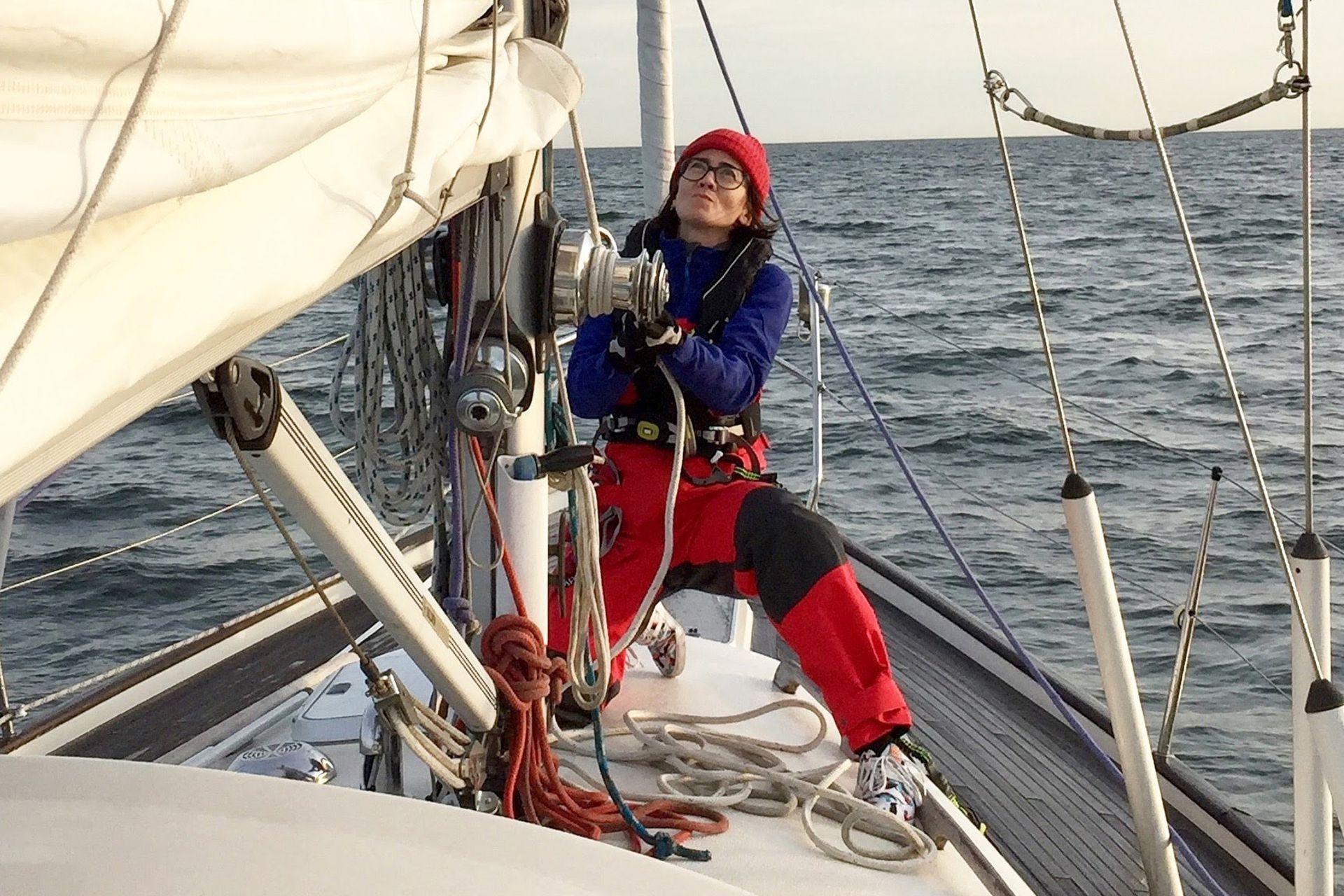 El viaje a bordo del velero Fanky duró seis meses
