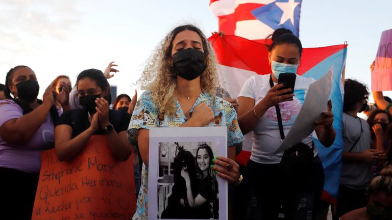 Puerto Rico: acusan a un boxeador olímpico de matar a una joven embarazada