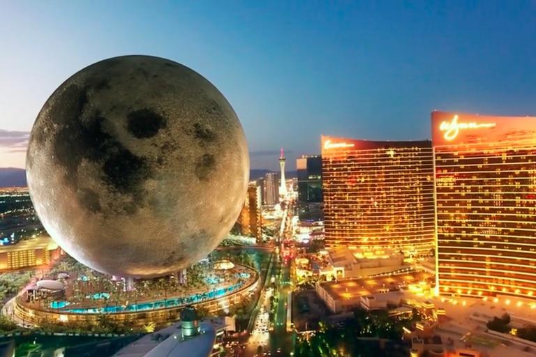 Cómo será el imponente resort inspirado en la Luna que construirán en Las Vegas