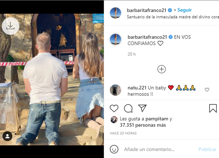 La publicación de Barby Franco que hizo pensar a sus fans que la modelo está buscando quedar embarazada