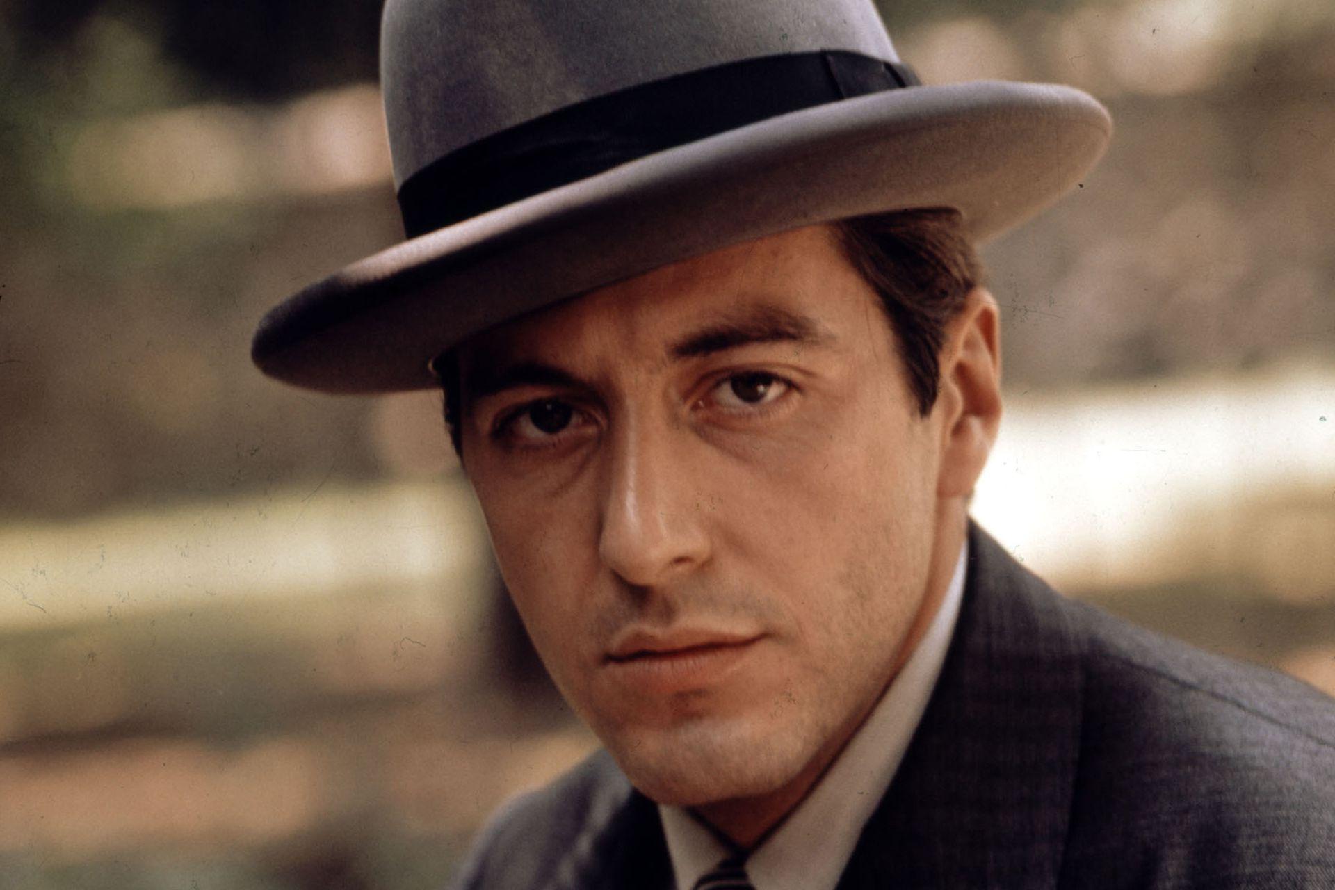 """Al Pacino como Michael Corleone en la película """"El Padrino"""" de 1972"""