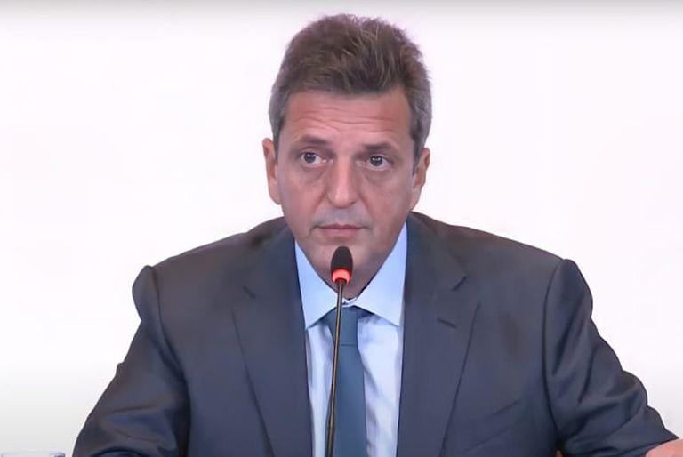 """La chicana de Sergio Massa a Diego Santilli y su """"olvido"""" sobre Axel Kicillof"""