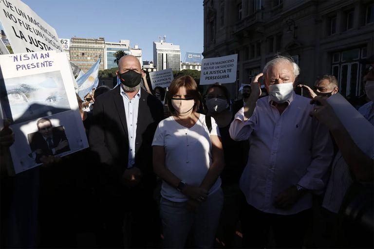 Waldo Wolff, Patricia Bullrich y Jorge Enríquez participaron de la convocatoria