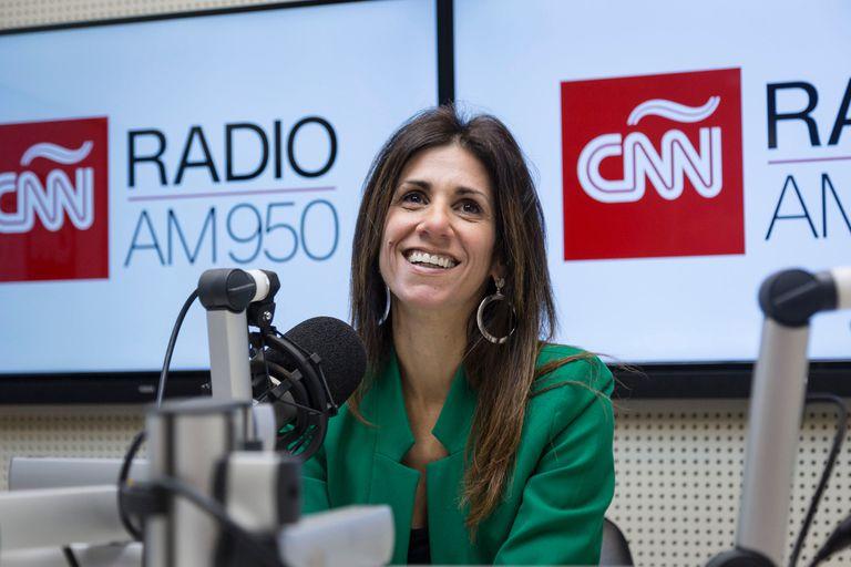 Nuria Am, al frente del flamante ciclo Laboratorio electoral, en El Nueve