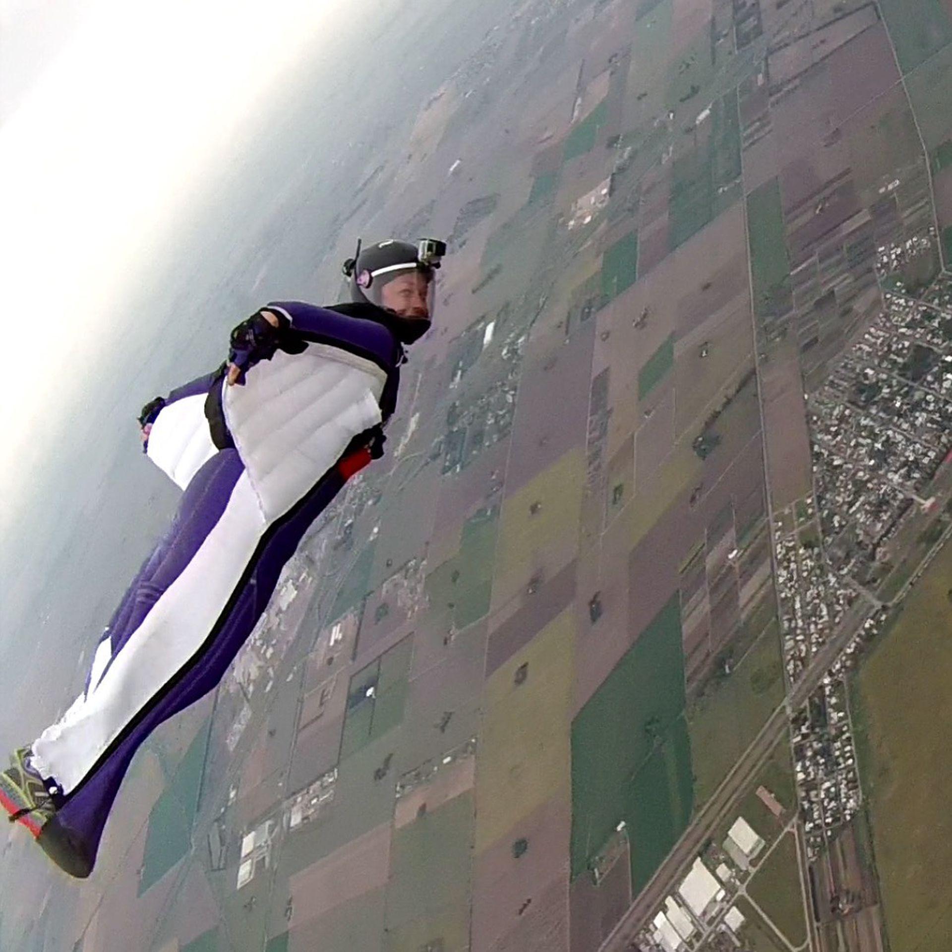Dasha Zakharova es la única argentina con dos récords mundiales homologados por la Federación Internacional de Aviación