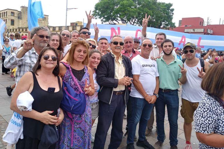 Los dirigentes peronistas que marcharon en Luján contra el aborto