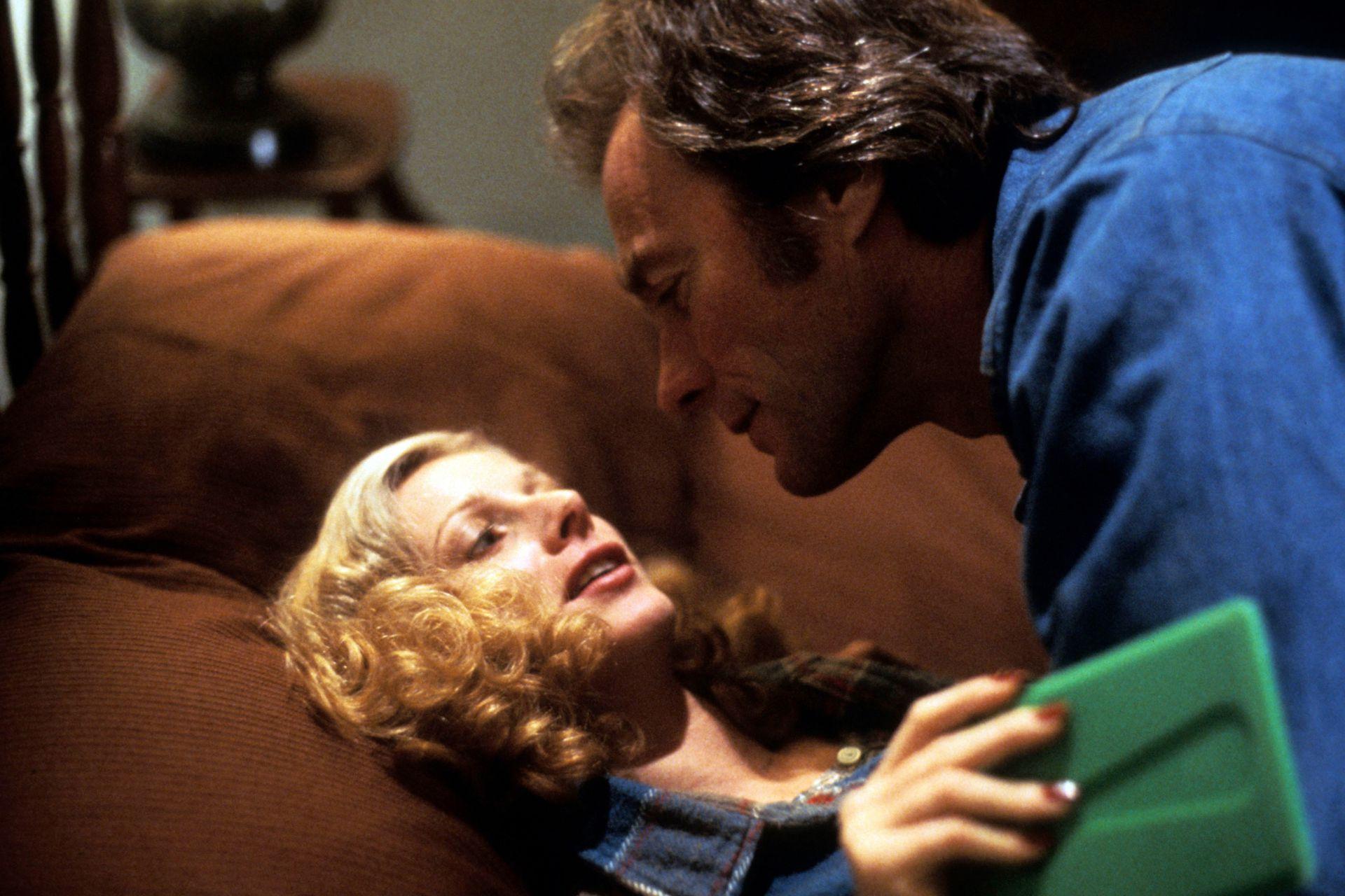 Clint Eastwood y Sondra Locke, en Bronco Billy