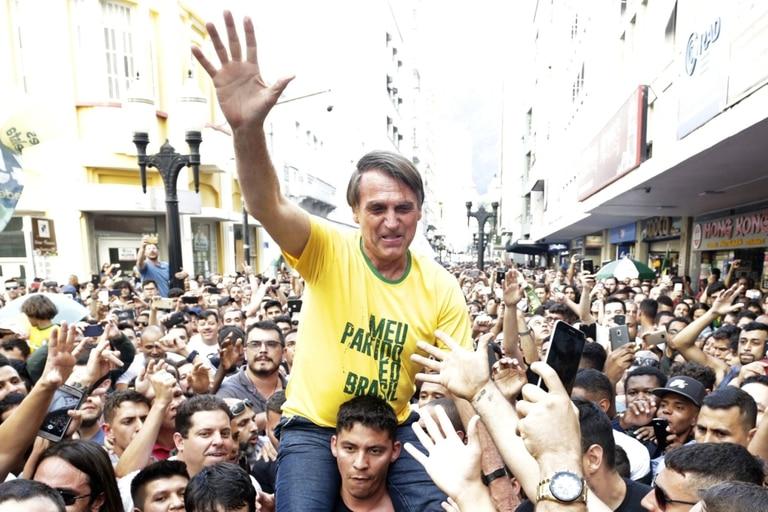 Jair Bolsonaro anticipó que si resulta electo eliminará el ministerio de Medioambiente y lo volverá parte del de Agricultura