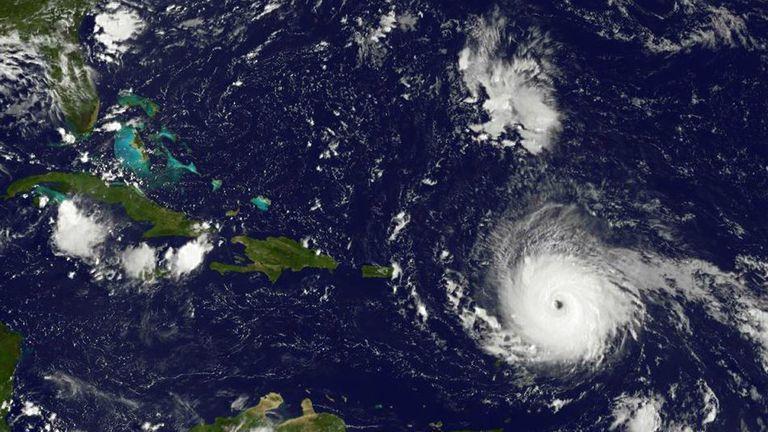 El huracán Irma avanza hacia Islas Vírgenes y Puerto Rico