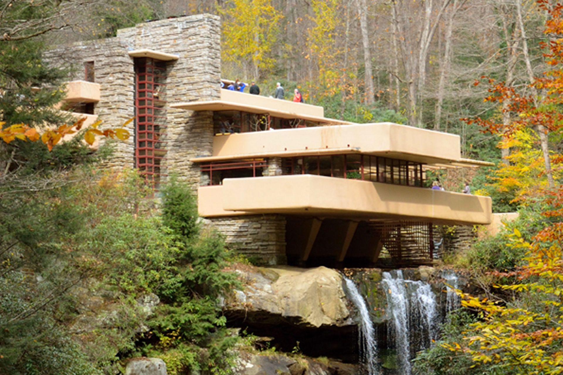 Casa de la Cascada, de Frank Loyd Wright