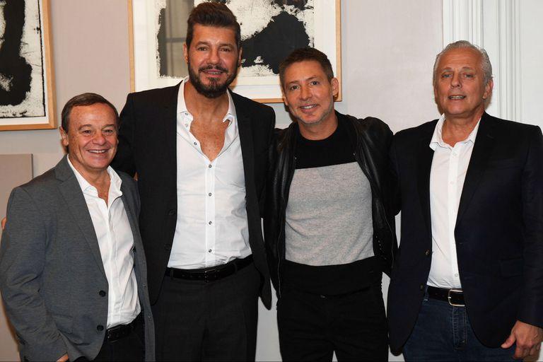 Marcelo Tinelli y su productora, LaFlia, firmaron contrato con Artear