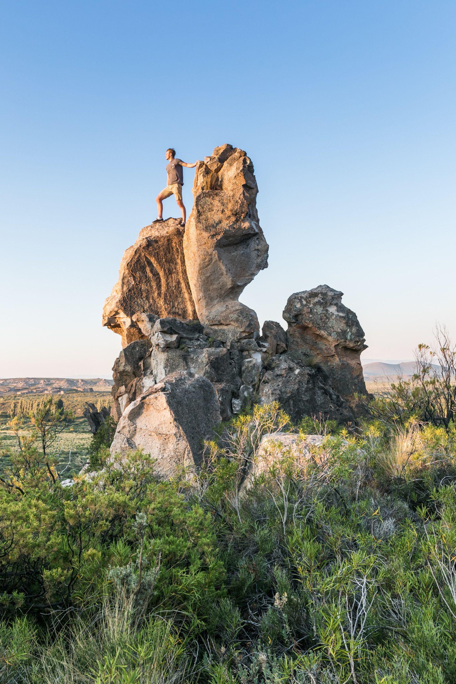 Los Riscos, una formación que sólo se replica en Capadocia, Turquía, e invita a una experiencia extraordinaria.