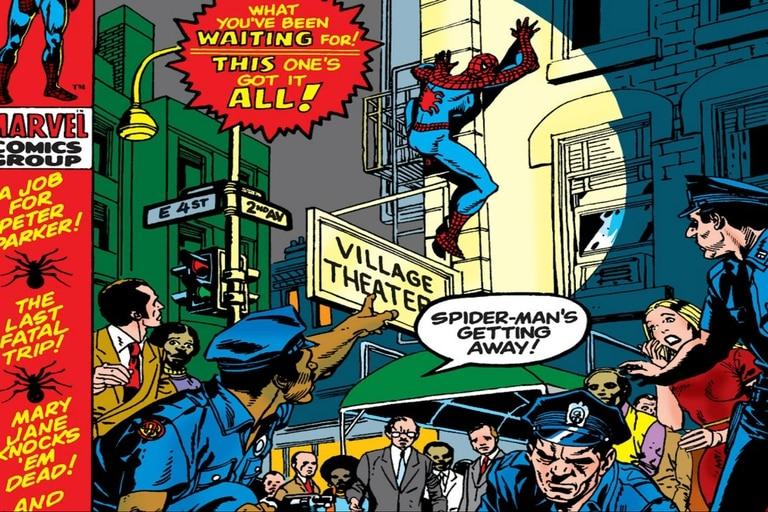 El famoso número de Spider-Man y la adicción a las drogas