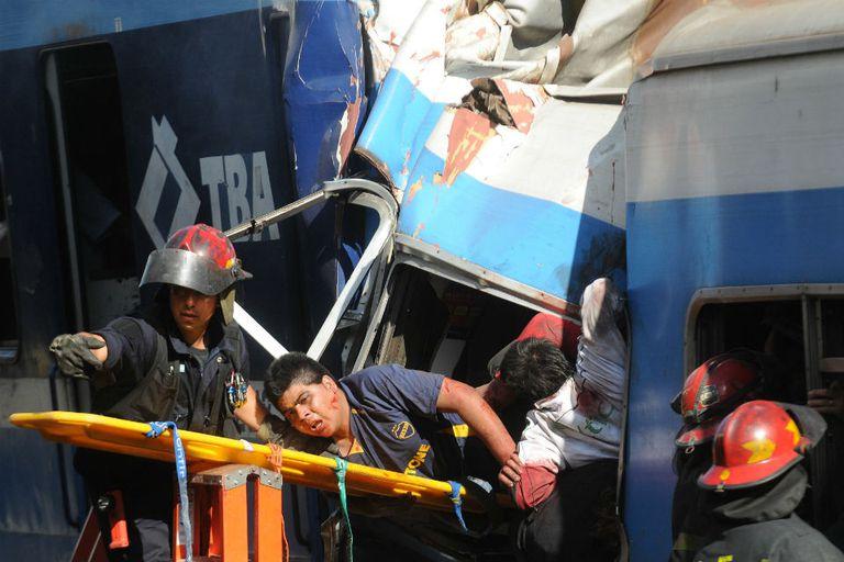 El año pasado murieron 52 personas al chocar un tren del Sarmiento en Once