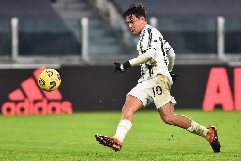 Dybala marcó un tanto en la última fecha, ante Udinese