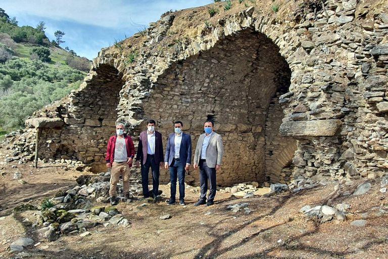Un anfiteatro romano fue descubierto en la antigua ciudad de Mastaura, ubicada en la provincia de Aydin en Turquía