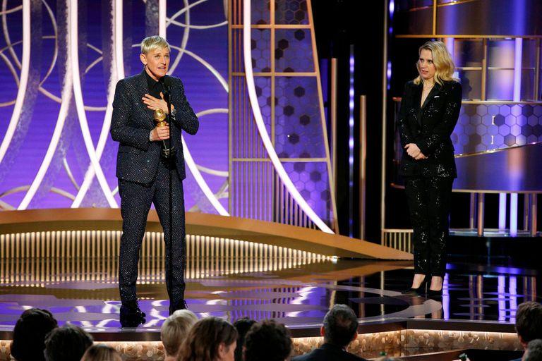 Ellen DeGeneres y su disparatado e inspirador discurso en los Globos de Oro