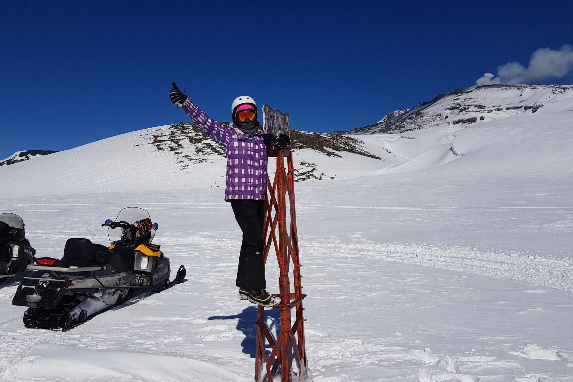 Los turistas pueden disfrutas del esplendor de las montañas