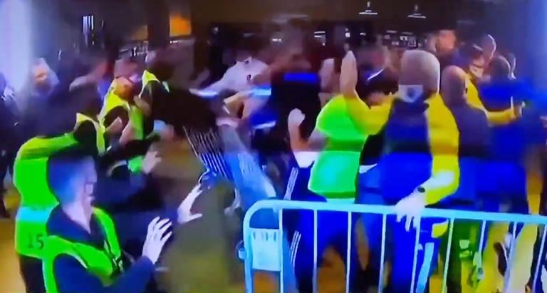 Los incidentes en el vestuario en Belo Horizonte