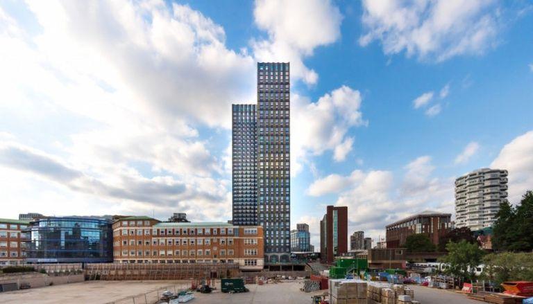 Cómo es el edificio modular más alto del mundo