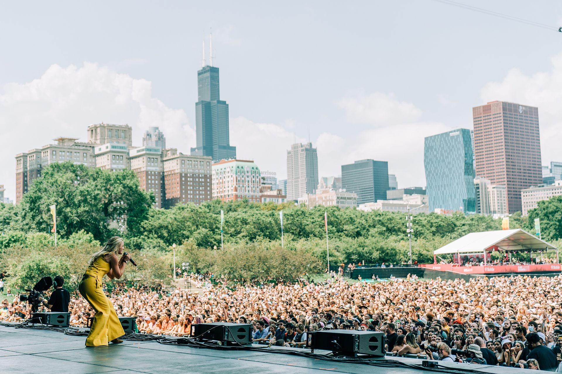 Aly & AJ en Lollapalooza Chicago
