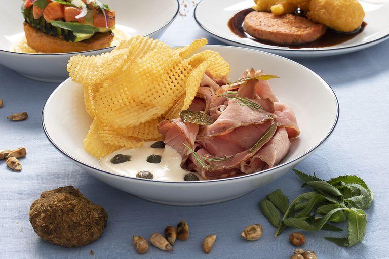 El toque del almíbar aparece en casi todos sus platos